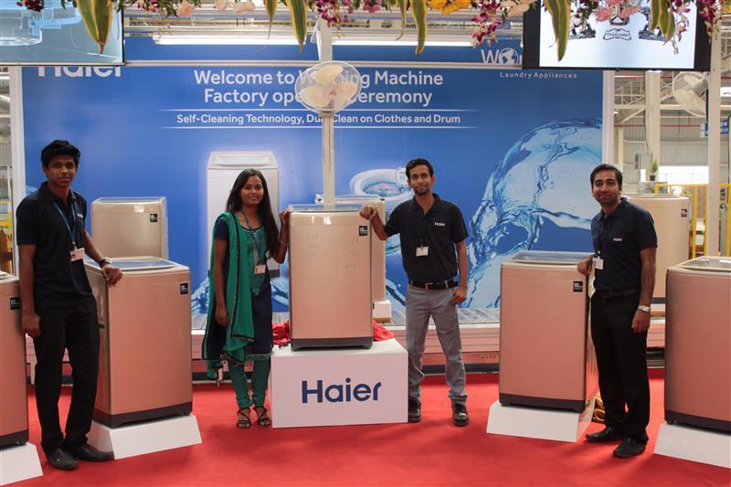 """""""印度造""""海尔利发国际利发国际手机客户端版下线:全球化再进一步"""