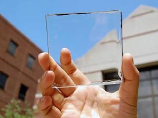 高度透明的太阳能面板材料:未来可期!