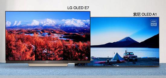 谁是真正王者?LG E7与索尼A1对比评测