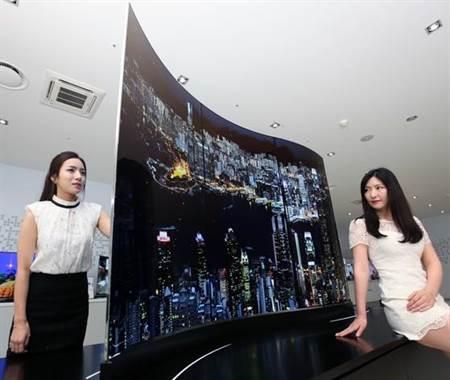 图为乐金的OLED电视。(图/乐金电视)