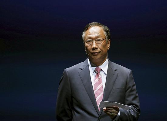 郭台铭计划下个月访问印度探讨iPhone组装计划