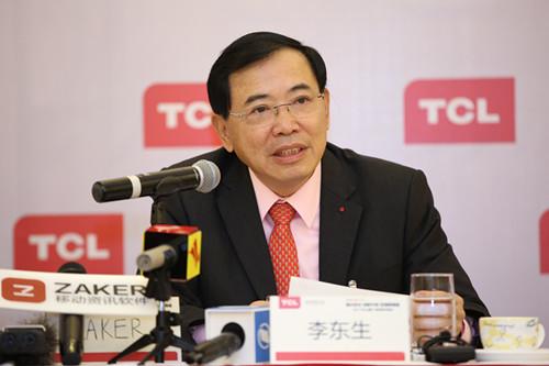 TCL李东生:自动化是必然 但不会大裁员