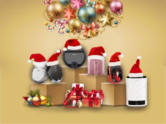 """科沃斯扫地机器人圣诞""""洁""""京东直播SHOW"""