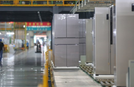 海信冰箱天玑系列在扬州工厂下线