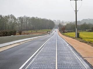 """中国首条""""太阳能 公路""""即将通车"""