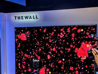 """三星展示146英寸模块化电视 名字叫""""墙"""""""