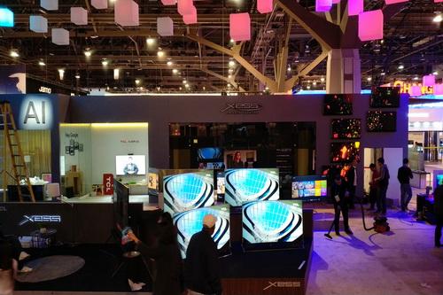 CES展馆提前看:家电类也充满黑科技感