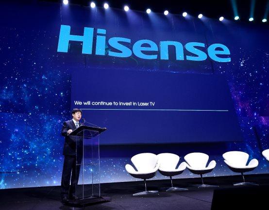 海信史上最强激光电视阵容登陆CES,最大150吋即将推出300吋!