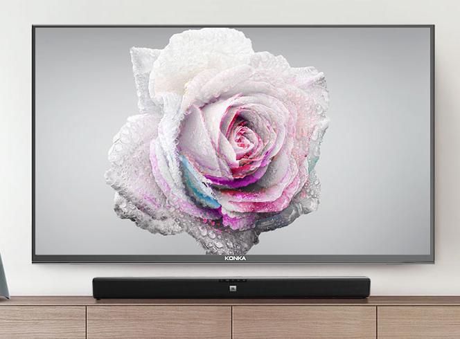 电视内置酷开智能系统,用户可以私人订制专属内容