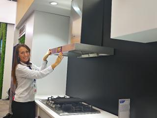 智能单品拼不出智慧厨房 海尔CES展出成套化智慧厨房