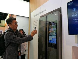 海尔馨厨冰箱推互联互通展行业唯一AIOT技术