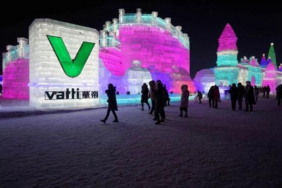 华帝冠名哈尔滨冰雪大世界 跨界持续升级