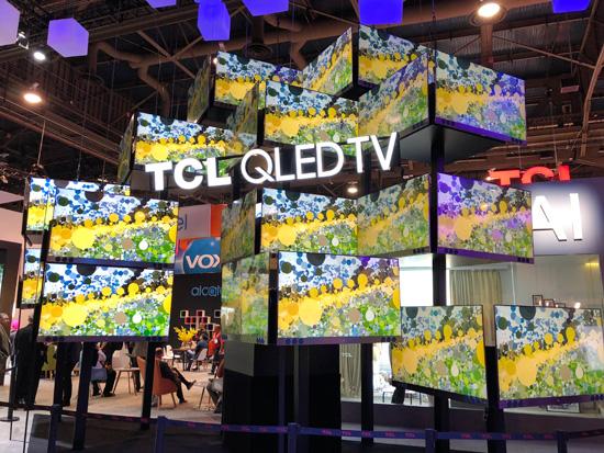 为国产精品打Call!TCL多款电视新品亮相CES