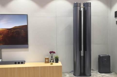 空调送风千篇一律 卡萨帝CES展示1台空调吹多种温度