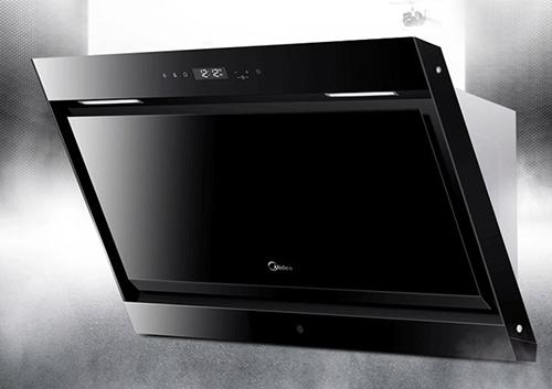 【美的CXW-200-DJ570R】美的(Midea)大尺寸大风量 智能蒸汽洗侧吸式抽油烟机 CXW
