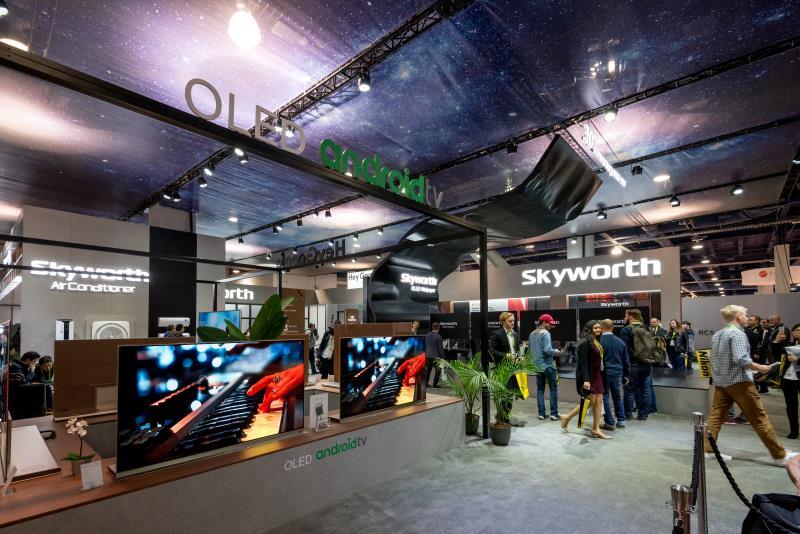 创维OLED亮相CES2018,核心科技引领世界潮流
