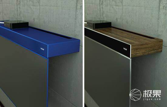 这款电视自带收纳柜 可调节角度更节省空间