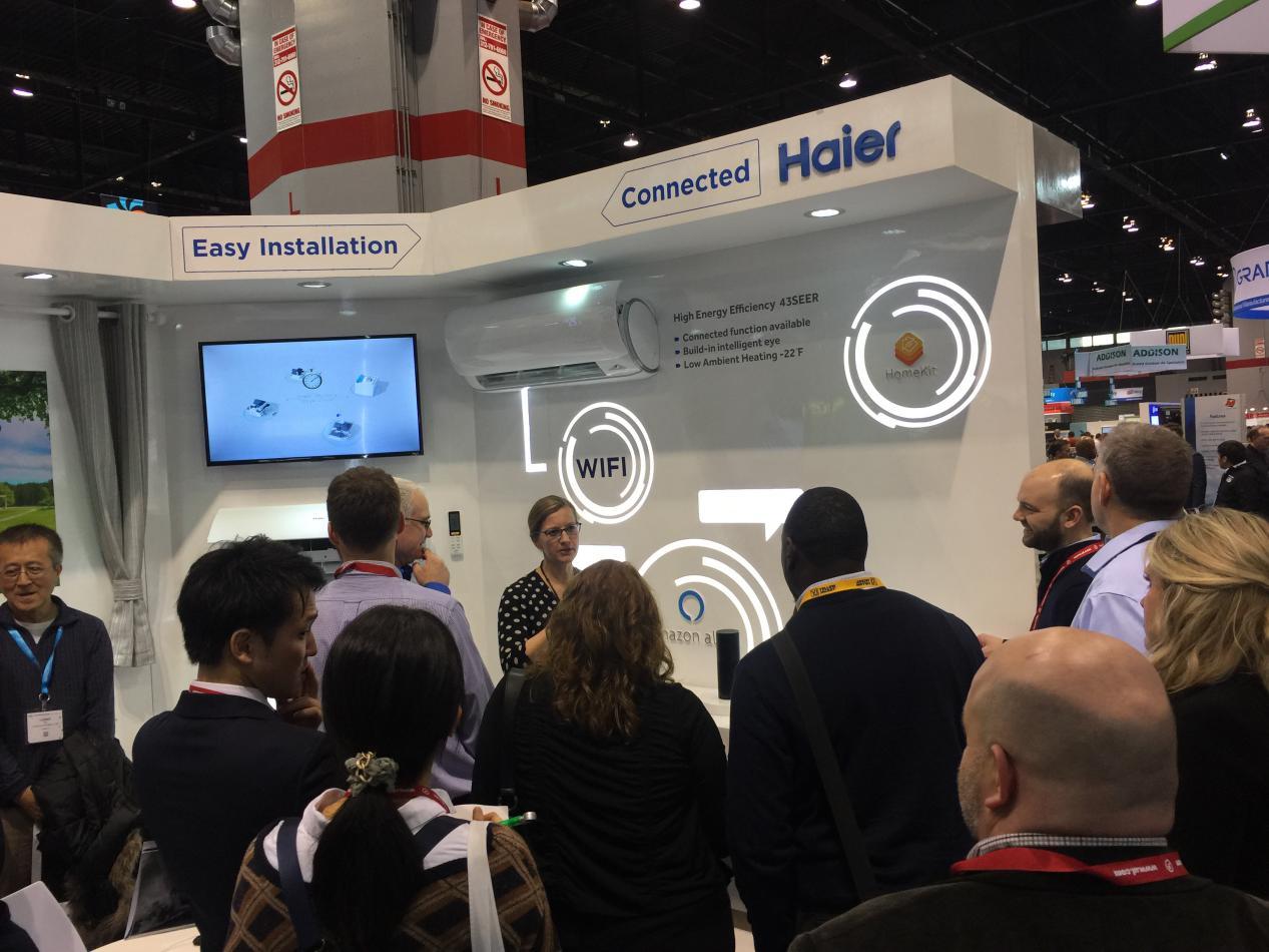 海尔美国AHR推支持HomeKit的智慧空气方案