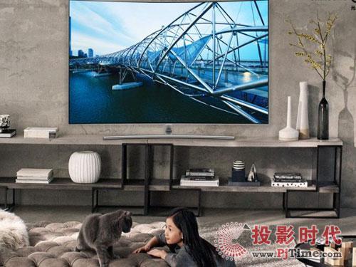 上游面板企业发力 超大屏电视时代将来临