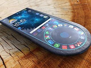 设计师有个大胆的想法:用木头造智能手机