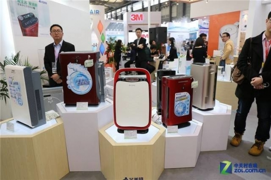 几年前的空气净化器市场同样混乱
