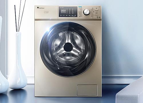 小天鹅(LittleSwan) 9公斤智能全自动滚筒洗衣机TG90-1416WMIDG 金色【图片