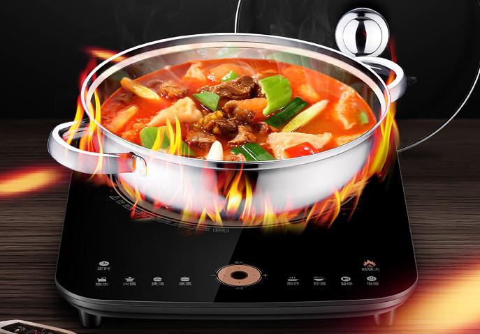 冬天就要在家吃火锅 没有电磁炉怎么行?