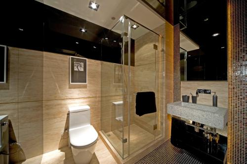最理想的卫浴就是那些摆设简洁并且清洁干净的卫浴