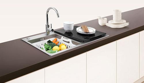 【方太JBSD2T-X1】方太(FOTILE)6套-燕尾黑-跨界三合一-超声波清洗-水槽洗碗机-JB