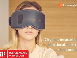 失眠救星 黑科技眼罩能催眠还能美容