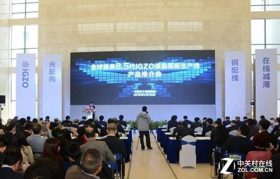 中国面板行业正在积极追求新技术