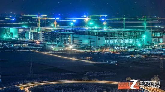 中国正在如火如荼建设的液晶面板生产线