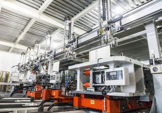 格兰仕全自动化电蒸炉生产设备
