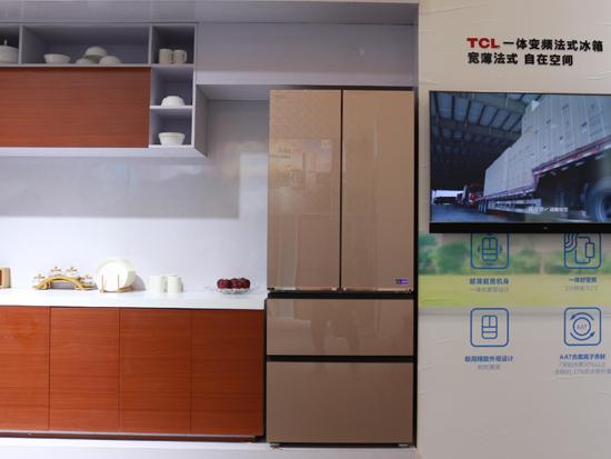 """智慧健康""""风冷+"""" TCL冰箱新品AWE首秀"""