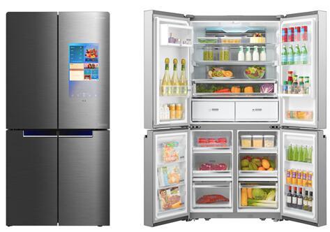 美的冰箱旗舰新品BCD-750WGPZV全球首发