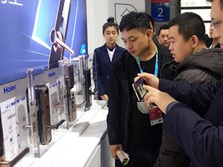 上海AWE海尔智能门锁新品发布:一锁开启智慧新生活