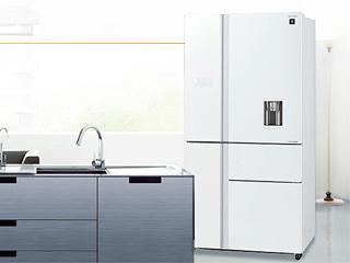 五大健康保鲜空间 高品质选夏普多门冰箱