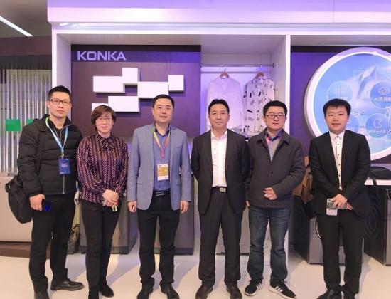 中国电信集团政企工业互联网负责人刘晖平到访康佳,探讨推进物联技术落地项目