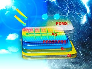中国科研人员开发新型太阳能电池  雨天也能发电