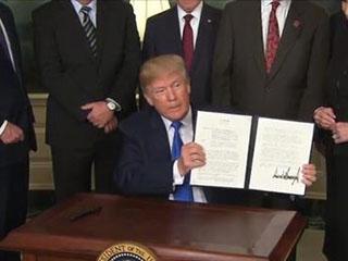 特朗普宣布对600亿美元中国商品征税