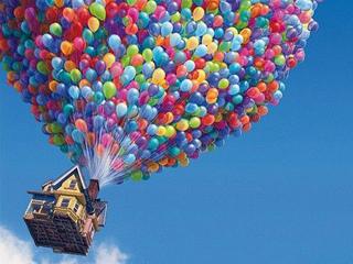 气球悬空自转之谜