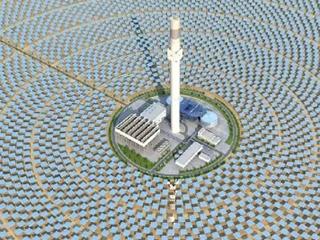 航天黑利发国际: 亚洲最大太阳能项目今年8月底发电