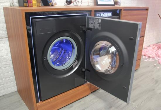 洗衣机开门细节