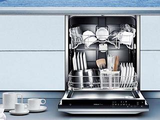 洗碗机解放你的双手  省时省力!