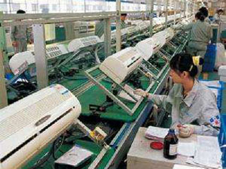 中国制冷空调业去年实现工业总产值约6500亿元
