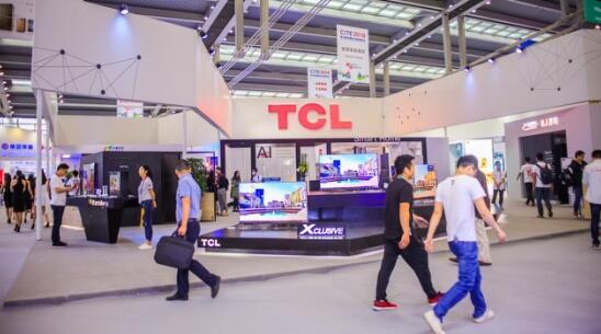 2018中国电子信息博览会在深圳开幕 TCL电视展示智慧生活新理念