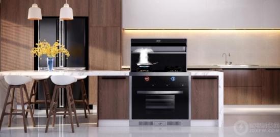 开放式厨房油烟易扩散?帅康集成灶让你的厨房放心敞开,厨电,帅康,集成灶