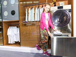 行业还在刷洗 海尔全球首创立体喷淋洗鞋机