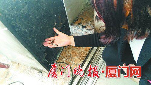 刚买的冰箱 竟突然起火