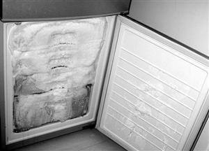 电冰箱快速除霜 一盆热水帮你搞掂
